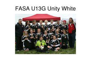 FASA U13G Unity White