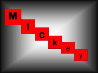 M is for mickey and minney mouse