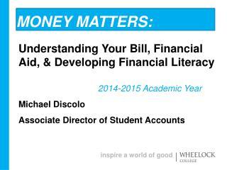 Money Matters: