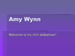 Amy Wynn
