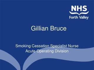 Gillian Bruce