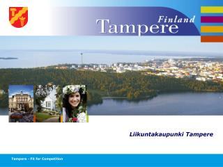 Liikuntakaupunki Tampere