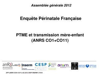 Enquête Périnatale Française