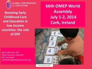 Boosting Early Childhood Care and Education in low income countries: the role of GPE