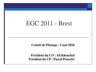 EGC 2011 - Brest
