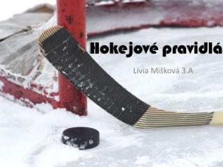 Hokejové pravidlá