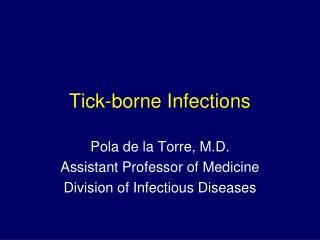 Tick-borne Infections