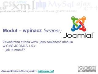 Jan Jackowicz-Korczyński :  edunet