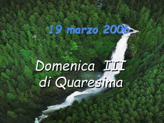 19 marzo 2006