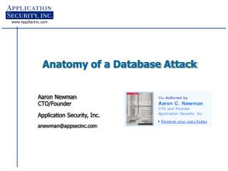 Anatomy of a Database Attack