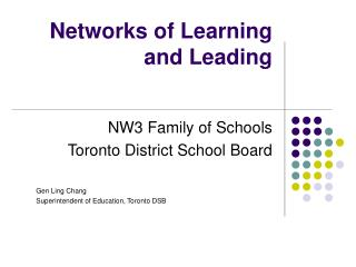 Networks of Learning and Leading