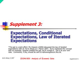 Supplement 3: