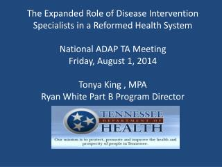 Disease Intervention Specialists