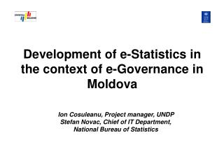 Development of e-Statistics in the context of e-Governance in Moldova