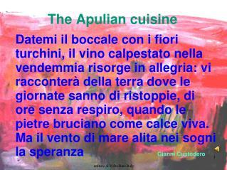 The  Apulian  cuisine