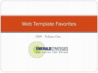 Web Template Favorites