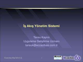 İş Akış Yönetim Sistemi