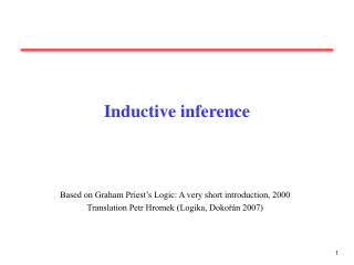 Inductive inference