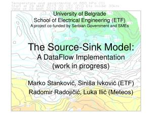 The Source-Sink Model: A DataFlow Implementation (work in progress)