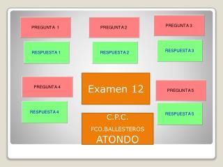 Examen 12