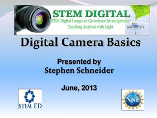 Digital Camera Basics