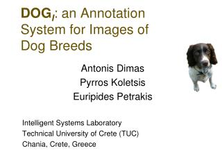 DOG I : an Annotation System for Images of Dog Breeds