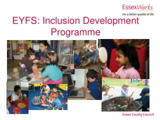 EYFS: Inclusion Development Programme
