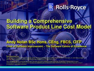 Building a Comprehensive Software Product Line Cost Model