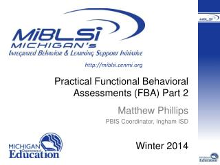 Practical Functional Behavioral Assessments (FBA) Part 2