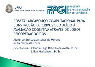 UFRJ Universidade Federal do Rio de Janeiro