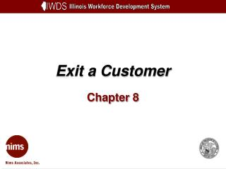 Exit a Customer