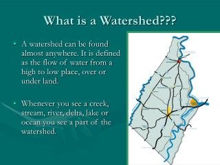 What is a Watershed???