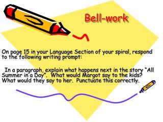 Bell-work