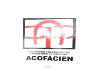 ENCUENTRO DE COORDINADORES DE PROGRAMAS DE  CIENCIAS Edgar  M�nera  T. � FCEN U. de A.