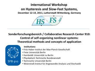 Institutions:  Fritz-Haber-Institut  der Max-Planck-Gesellschaft  Freie  Universität  Berlin