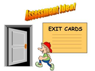 Assessment Idea!