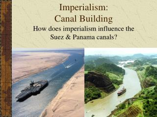 Imperialism: Canal Building
