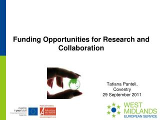 Funding Opportunities for Research and Collaboration