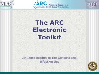 The ARC Electronic Toolkit
