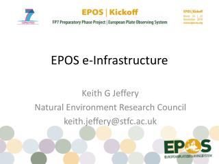 EPOS e-Infrastructure