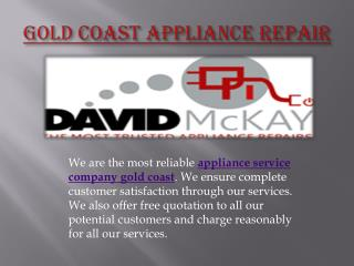 Appliance service company gold coast
