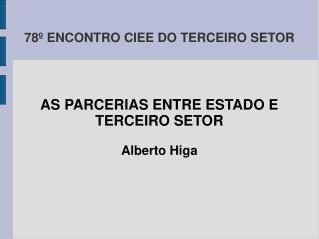 78º ENCONTRO CIEE DO TERCEIRO SETOR