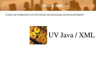 Module  XML
