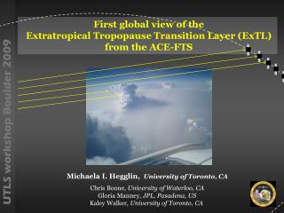 First global view of the  Extratropical Tropopause Transition Layer (ExTL)   from the ACE-FTS