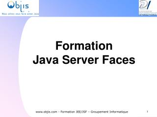 Formation  Java Server Faces