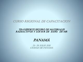 CURSO REGIONAL DE CAPACITACION