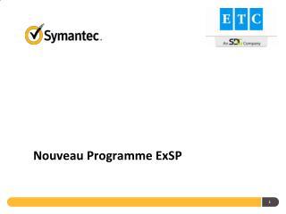 Nouveau Programme ExSP