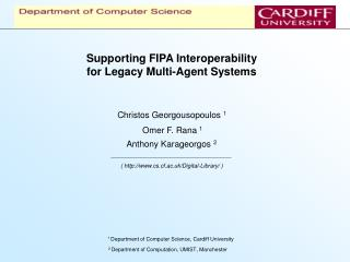 Supporting FIPA Interoperability for Legacy Multi-Agent Systems