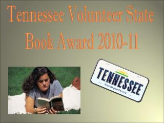 Tennessee Volunteer State  Book Award 2010-11