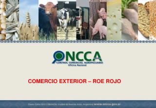 COMERCIO EXTERIOR � ROE ROJO